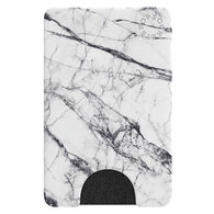 PopSockets PopWallet Faux White Marble Mobile Device Card Holder