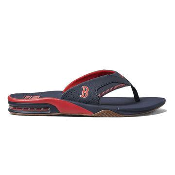 Reef Mens Fanning x MLB Red Sox Flip Flop Sandal
