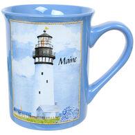 Cape Shore Coastal Collage Bay Mug