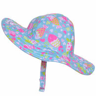 Flap Happy Girl's Summer Splash Swim Hat