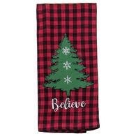 Kay Dee Designs Camp Christmas Embroidered Tea Towel