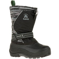 Kamik Boys' & Girls' SnowcoastP Waterproof Insulated Winter Boot