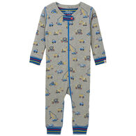 Hatley Infant Boy's Crayon Construction Organic Cotton Coverall