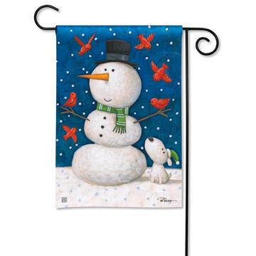 BreezeArt Winter Pals Garden Flag