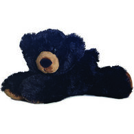 "Aurora Sullivan Black Bear 8"" Plush Stuffed Animal"