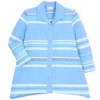 Habitat Women's Newport Stripe Toggle Button Tunic