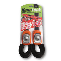 KanuLock 11' Lockable Tie-Down Strap - 2 Pk.