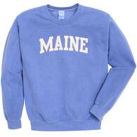 Soft As A Grape Women's Maine Crew Sweatshirt