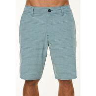 O'Neill Men's Locked Striped Hybrid Short