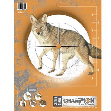 Champion Critter Paper Target - 10 Pk.