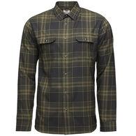 Flylow Gear Men's Handlebar Tech Long-Sleeve Flannel Shirt