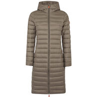 Save the Duck Women's Gigay Hooded Quited Coat