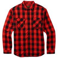 Burton Men's Brighton Burly Sherpa Flannel Long-Sleeve Shirt