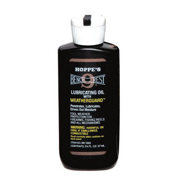 Hoppe's No. 9 Bench Rest Lubricating Oil w/ Weatherguard
