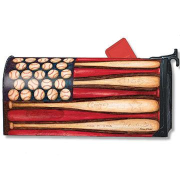 MailWraps Baseball Season Magnetic Mailbox Cover