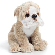 Nat & Jules Bulldog Beanbag Stuffed Animal