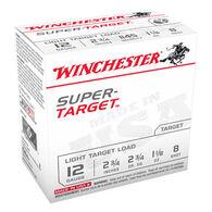 "Winchester Super-Target 12 GA 2-3/4"" 1-1/8 oz. #8 Shotshell Ammo (250)"