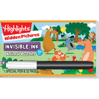 Lee Publications Invisible Ink: Highlights Hidden Pictures & Game Book
