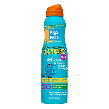 Kiss My Face Kids Defense Mineral SPF 30 Continuous Spray Lotion