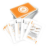 UST Survival Tips Playing Cards w/ Knot Tips
