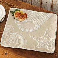 Mud Pie Sand Nautilus Shell Platter