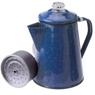 GSI Outdoors Enamelware 8 Cup Coffee Percolator
