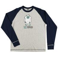 Lazy One Men's Yeti Long-Sleeve Sleep T-Shirt
