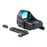 Mepro microRDS Electro-Optical Red Dot Sight w/ QD Adaptor & Backup Day/Night Sights