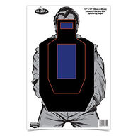 "Birchwood Casey Dirty Bird 12"" x 18"" Bad Guy IPSC Target - 8 Pk."