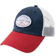 Southern Tide Men's Faded Flag Patch Trucker Hat