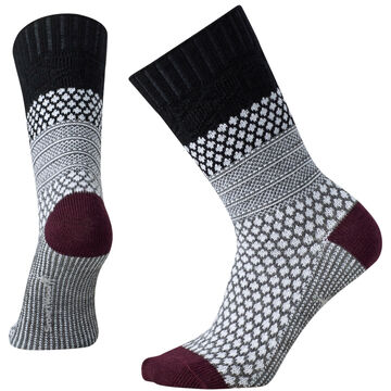 SmartWool Womens Popcorn Cable Crew Sock