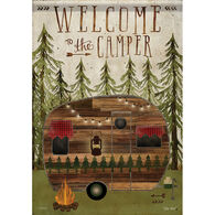 Carson Home Accents Welcome To The Camper Garden Flag