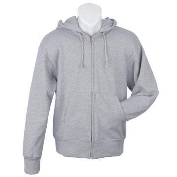 Camber Mens Full-Zip Hooded Fleece Sweatshirt