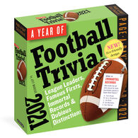 A Year of Football Trivia! 2021 Page-A-Day Calendar by Jeff Marcus