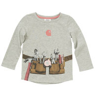 Carhartt Infant Girl's Tool Belt Long-Sleeve Shirt