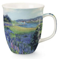 Cape Shore Lupine Meadow Harbor Mug