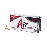 CCI A17 17 HMR 17 Grain Varmint Tip Rimfire Ammo (200)