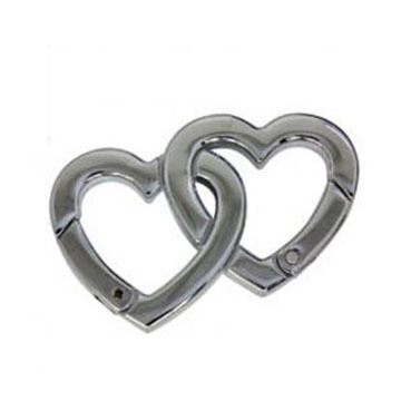 Bison Designs Love Link Stainless Steel Carabiner