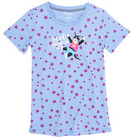 Hatley Women's Cat's Pajama Short-Sleeve Shirt