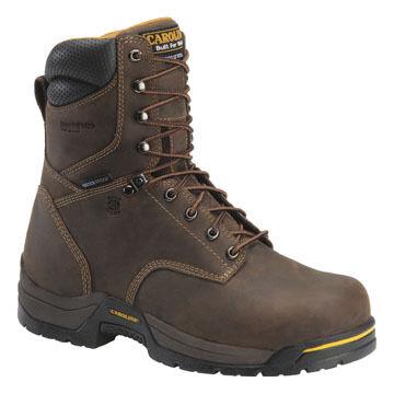 "Carolina Men's 8"" Soft Toe Waterproof Hiker Boot"