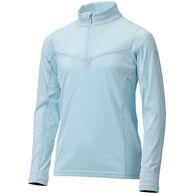 Descente Girl's Maddie Half-Zip Long-Sleeve Pullover