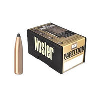 "Nosler Partition 7mm 175 Grain .284"" Spitzer Point Rifle Bullet (50)"