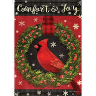 Carson Home Accents Comfort & Joy Garden Flag