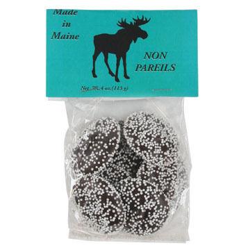 Wilbur's Of Maine Chocolate Nonpareils - 4 oz.