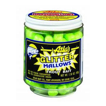 Atlas-Mike's Glitter Mallows Trout Bait