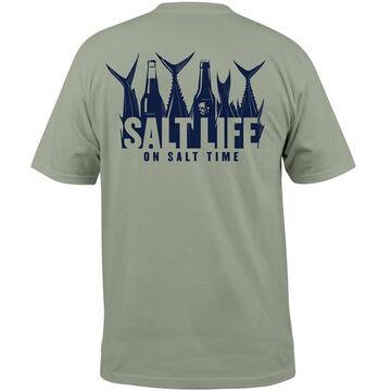 Salt Life Mens 5 OClock Somewhere Short-Sleeve T-Shirt