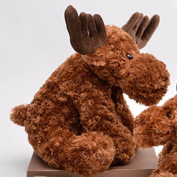 Unipak Designs Plush Chuddles Moose