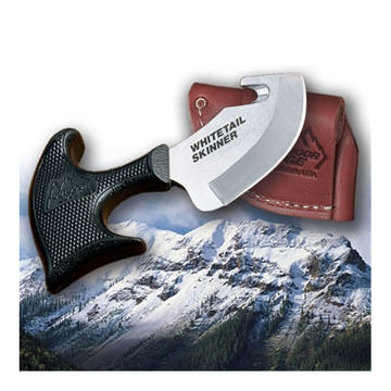 Outdoor Edge Whitetail Skinner Fixed Blade Knife w/ Cutting Hook