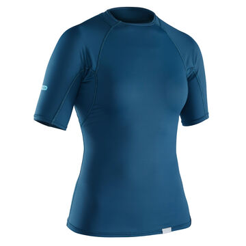 NRS Womens H2Core Rashguard Short-Sleeve Shirt - Discontinued Color