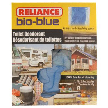 Reliance Bio Blue Toilet Deodorant - 12 Pk.